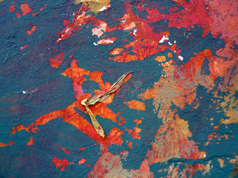 Painted abstract royalty free stock photography