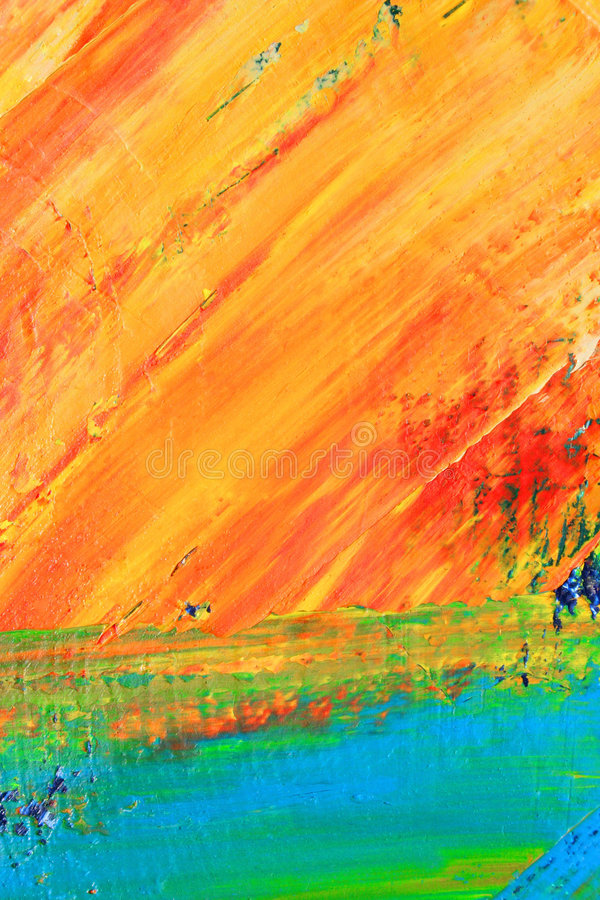 Painted canvas asbackground stock images