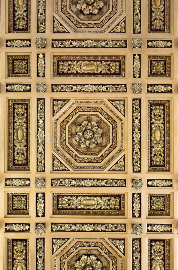 Painted ceiling stock images