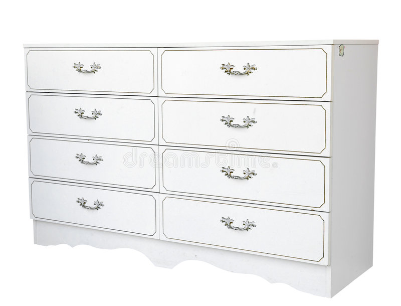 Painted Chest Of Drawers Stock Image