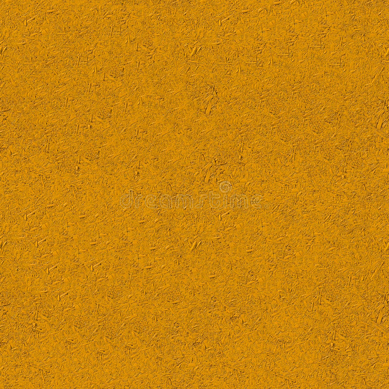 Painted chipboard texture. Yellow color painted chipboard texture stock photo