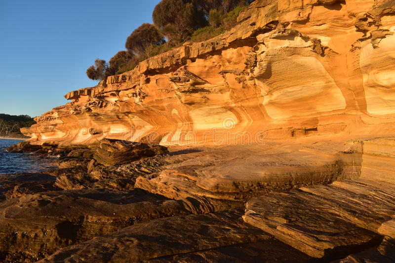 Painted Cliffs royalty free stock images