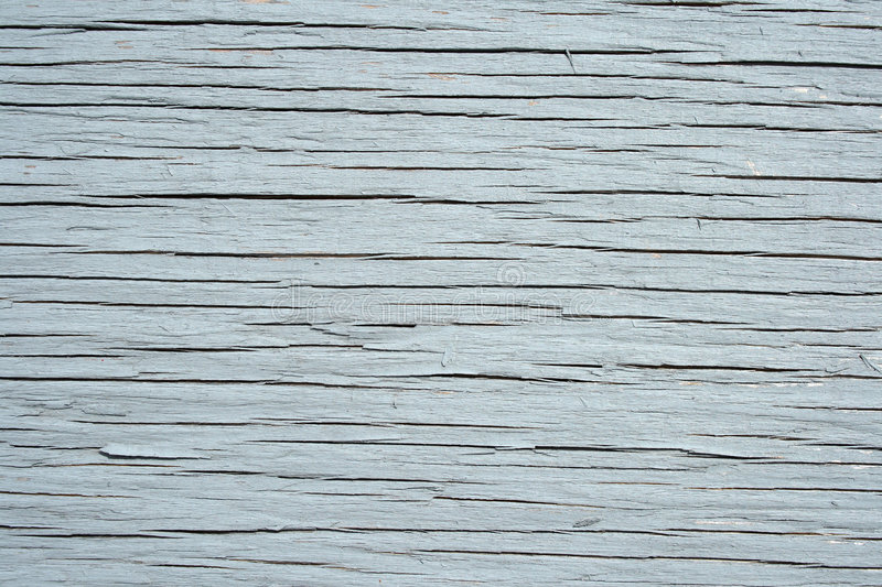 Painted Cracked Wooden Texture Stock Photo