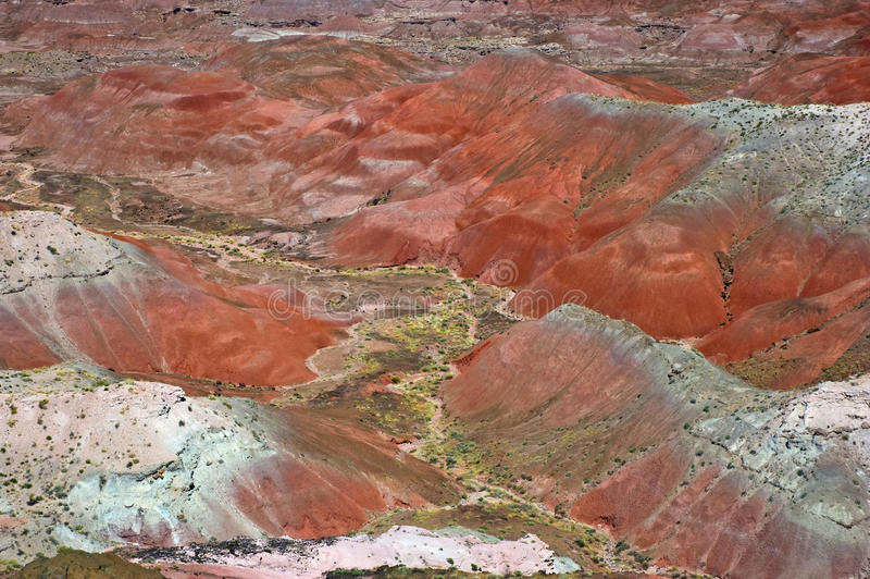 Painted Desert royalty free stock photos