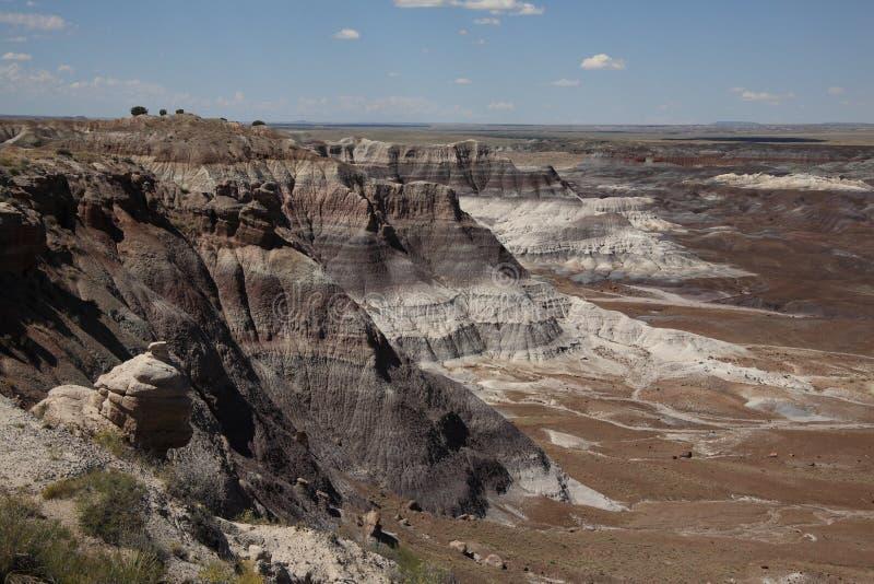 Download Painted Desert stock photo. Image of route, barren, ridges - 8755948