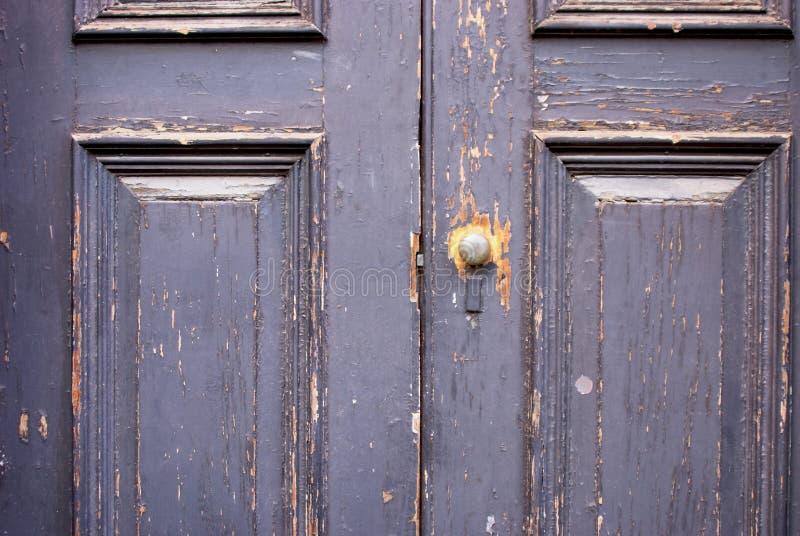 Painted door royalty free stock photo