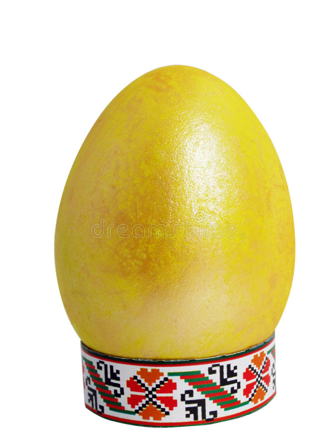 Download Painted Easter egg stock image. Image of golden, easter - 19621125