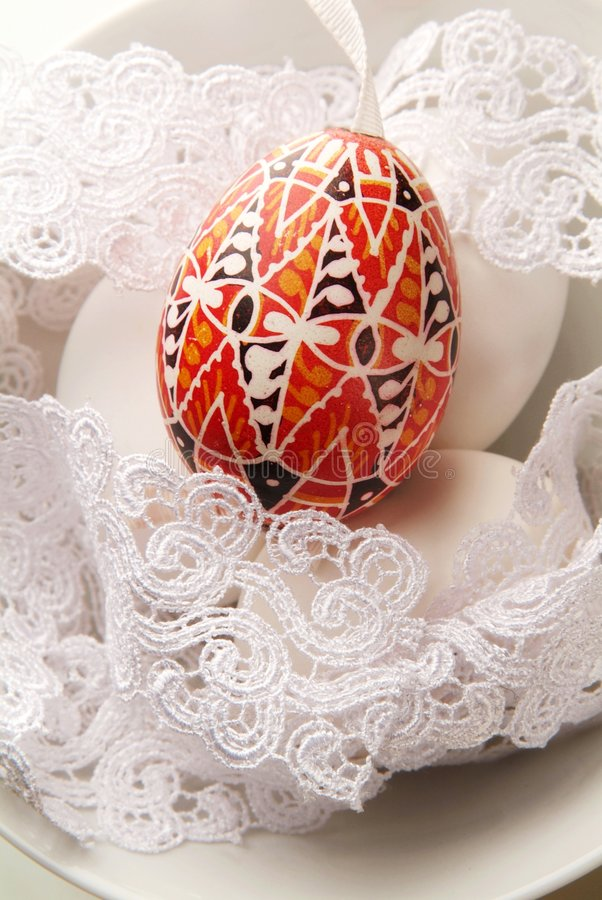 Download Painted Easter egg stock photo. Image of decoration, vertical - 8711696