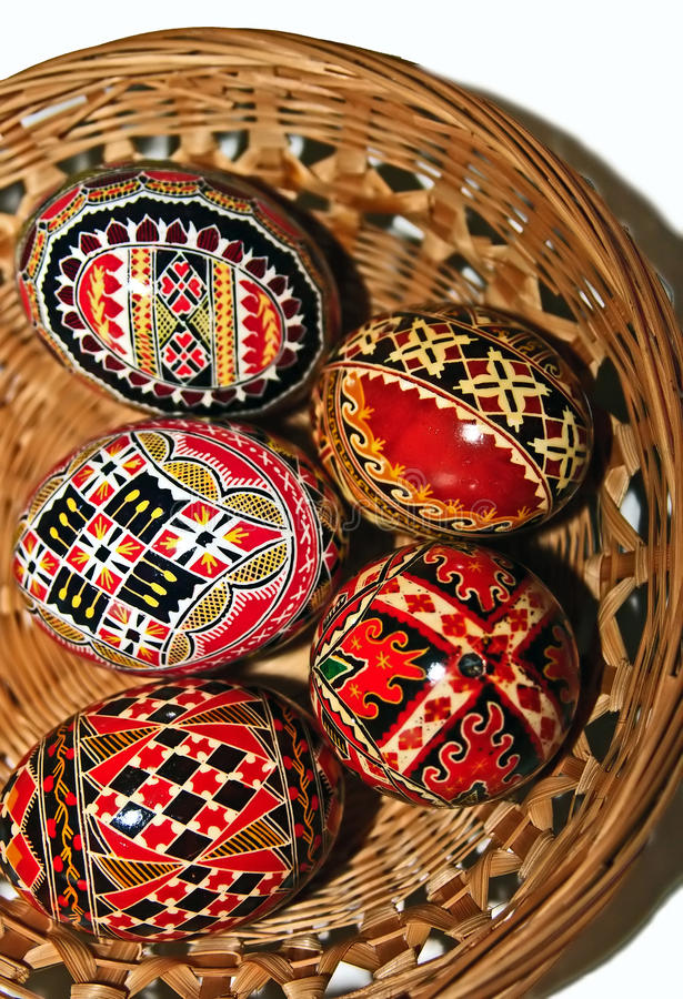 Download Painted Easter eggs 16 stock photo. Image of folklore - 29618196