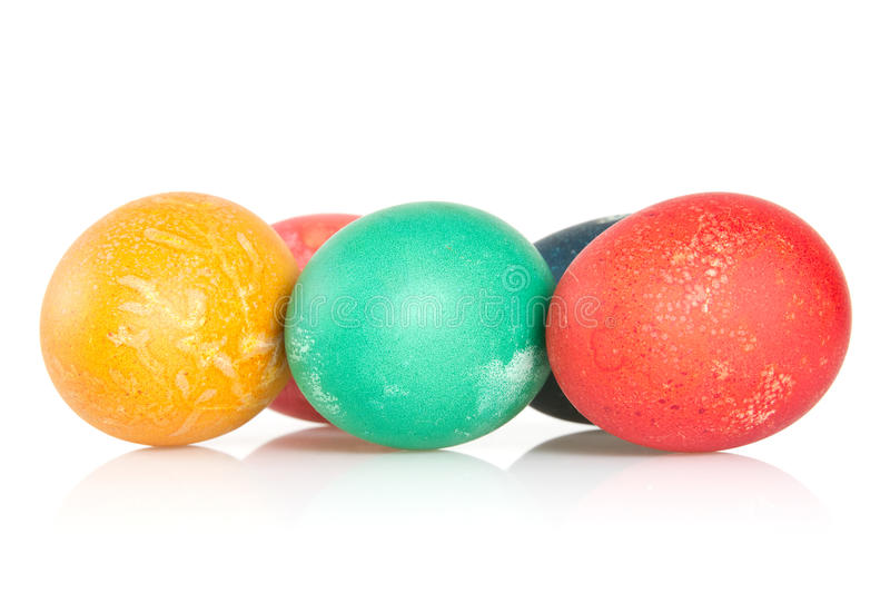 Download Painted  eggs stock image. Image of symbol, season, color - 24259645