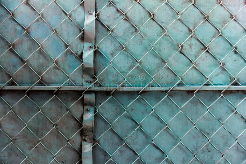 Painted gate stock photo. Image of galvanized, iron, steel - 47651274