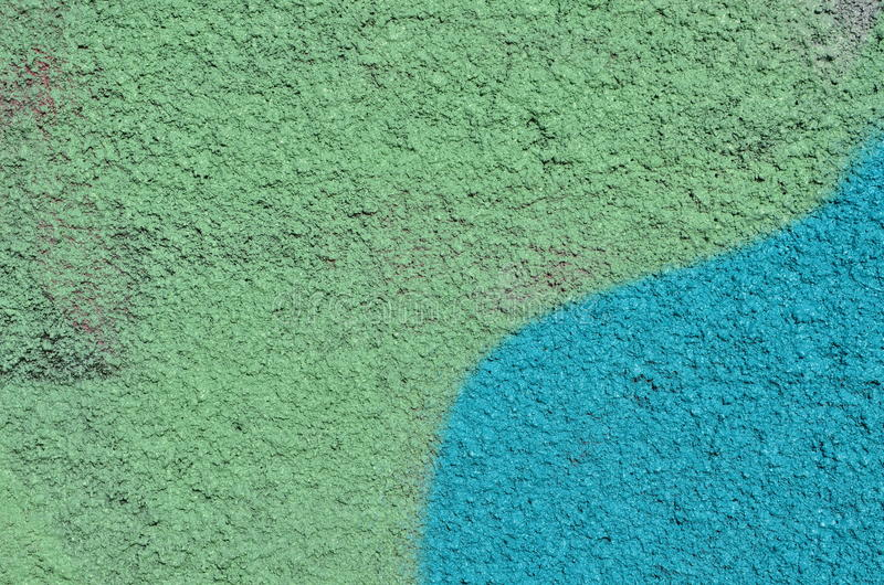 Painted ha strutturato il gesso immagini stock