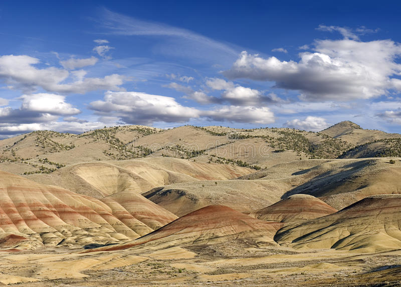 Painted Hills Royalty Free Stock Image