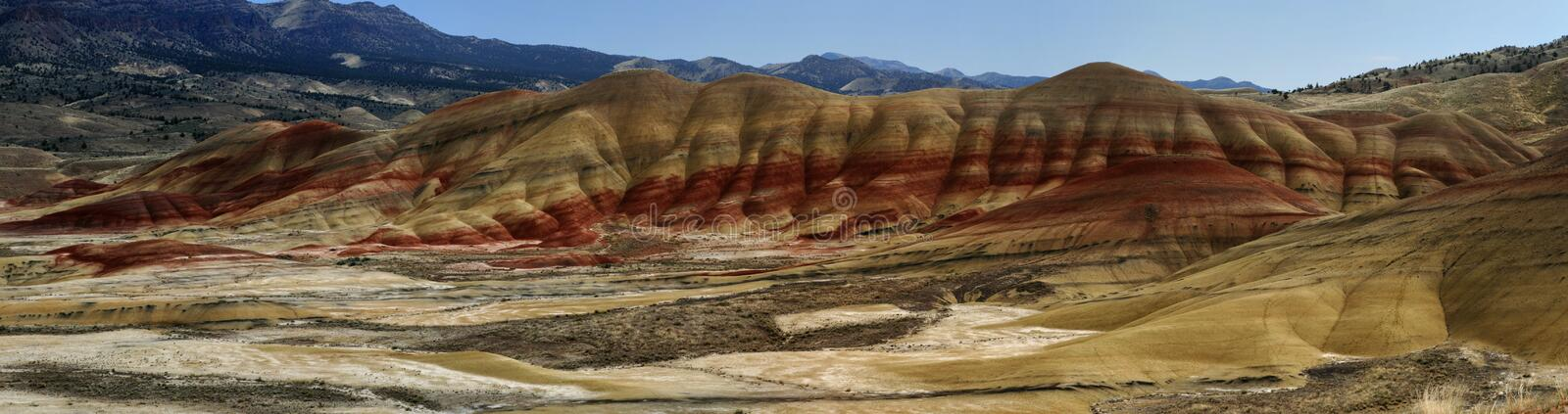Painted Hills, Oregon royalty free stock image