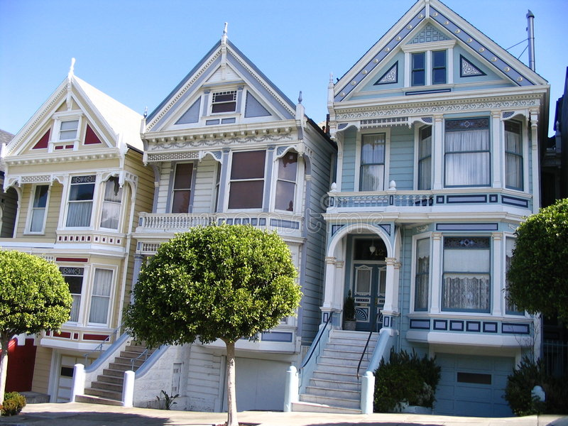 The Painted Ladies royalty free stock photography