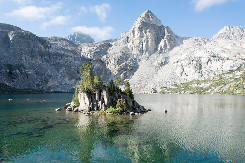 The Painted Lady at Rae Lakes in Kings Canyon National Park. royalty free stock photography