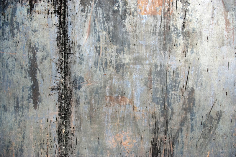 Rusty Painted Metal royalty free stock photography