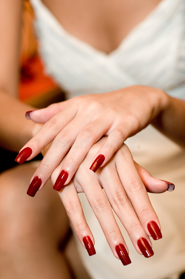 Download Painted Nails stock image. Image of display, relaxation - 2992465