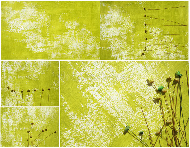 Download Painted Paper Background Collage Royalty Free Stock Photography - Image: 9215787