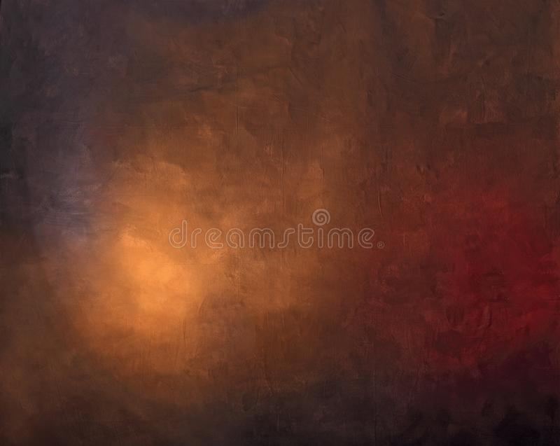 Painted photographic backdrop royalty free stock photo