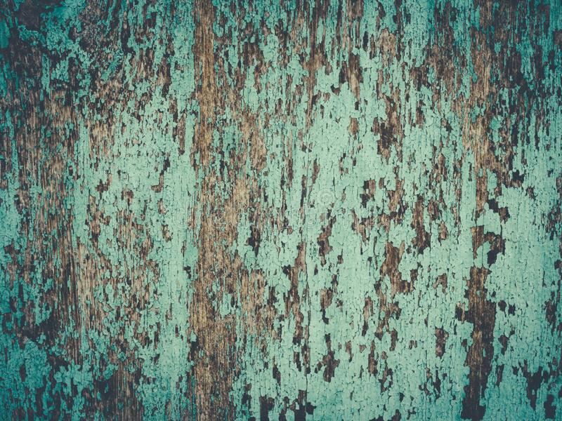 Painted plain vintage blue on wood board. Texture royalty free stock images