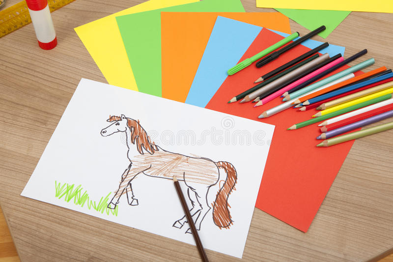 Download A painted pony stock illustration. Illustration of pony - 39507379
