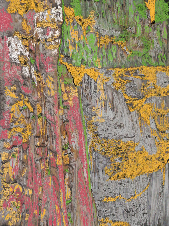 Download Painted Rocks stock image. Image of paint, natural, abstract - 54734219