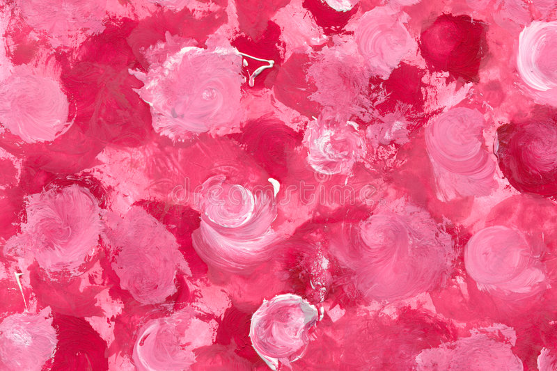 Download Painted Roses stock illustration. Image of abstract, picture - 500119