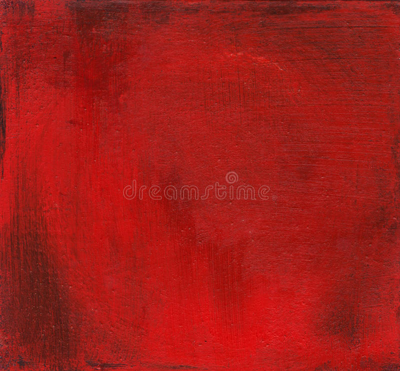 Red Painted Background stock photos