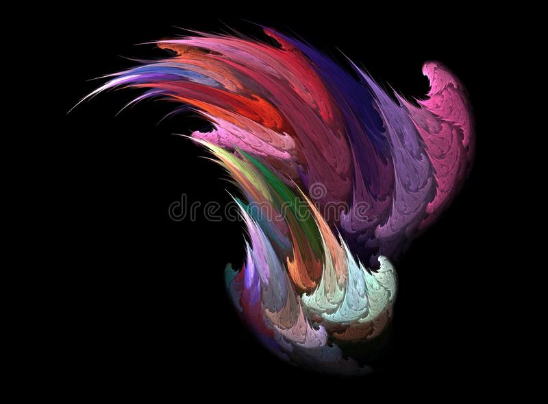 Download Painted Splashed Abstraction Stock Illustration - Image: 23064195