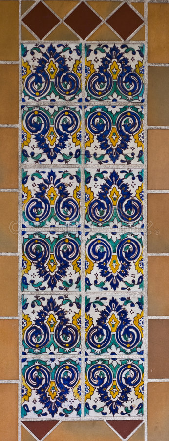 Download Painted Tiles Royalty Free Stock Images - Image: 2969549