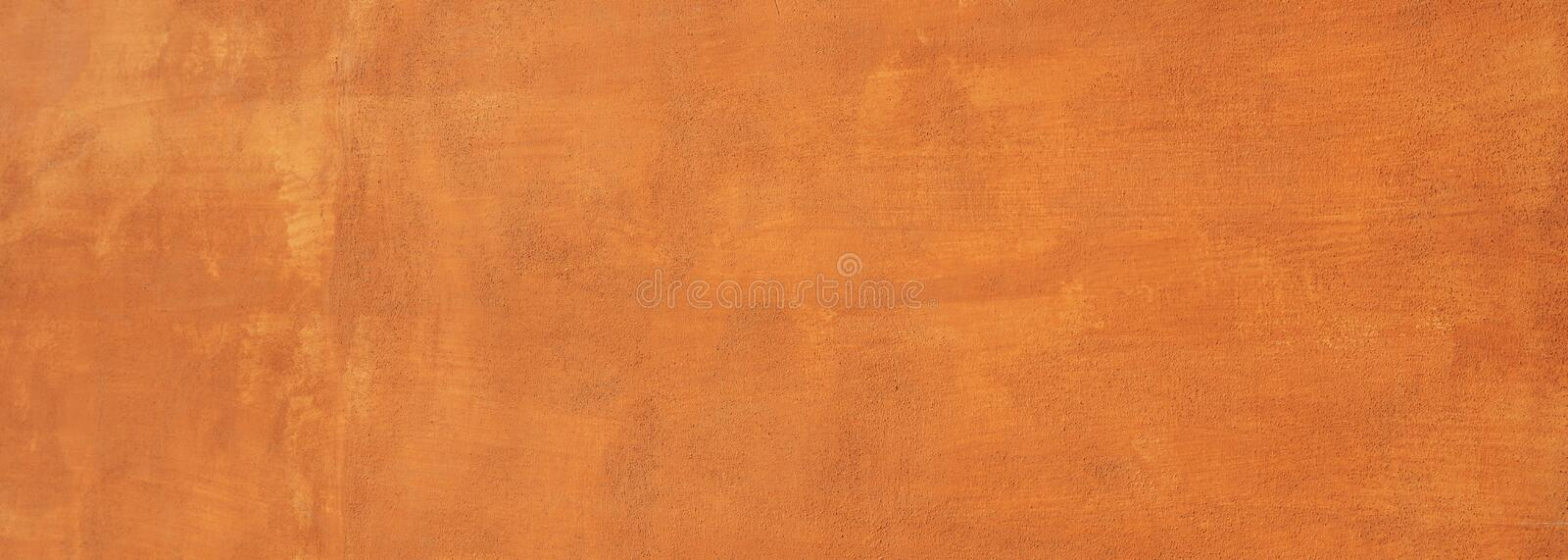 Painted wall texture background, red brown color, banner. Painted wall background, red brown color, rough texture, banner royalty free stock image
