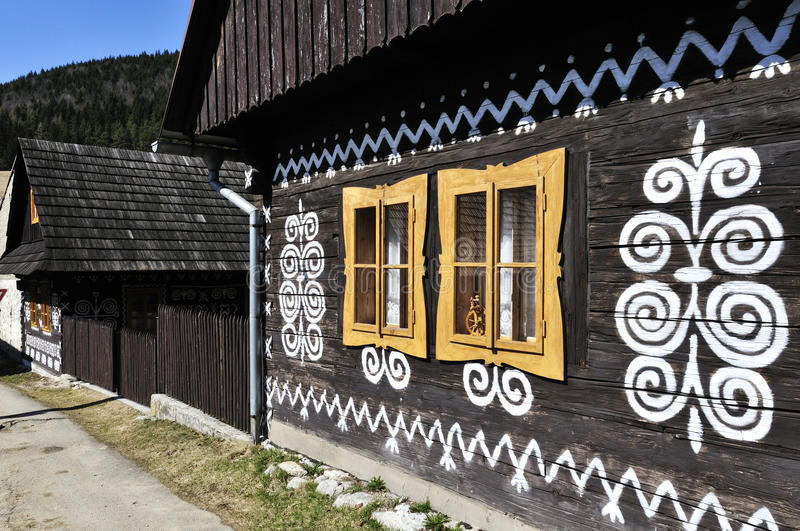 Download Painted Wooden House stock photo. Image of background - 33646788