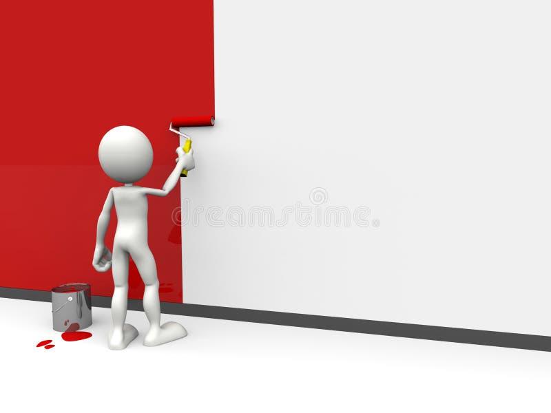 Painter. 3d hq image: the Painter vector illustration