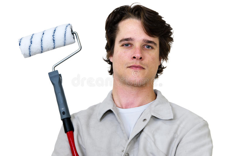 Download Painter stock image. Image of stick, professional, improvemant - 21004981