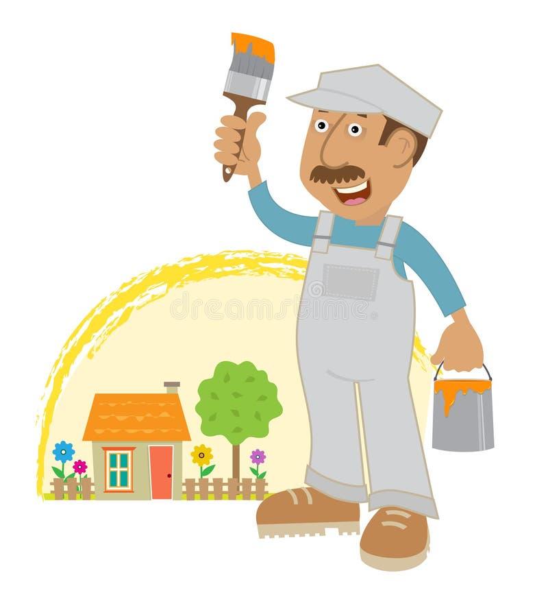 Download Painter Stock Vector - Image: 42447023