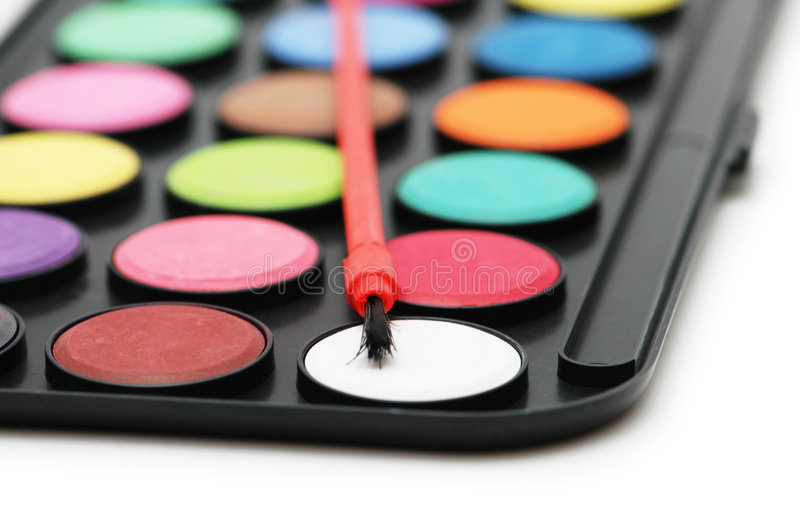 Download Painter's palette stock photo. Image of paint, drawing - 2579174