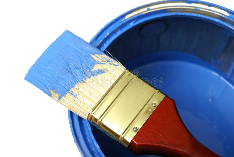 Download Painting stock photo. Image of bucket, colorful, contractor - 14858838
