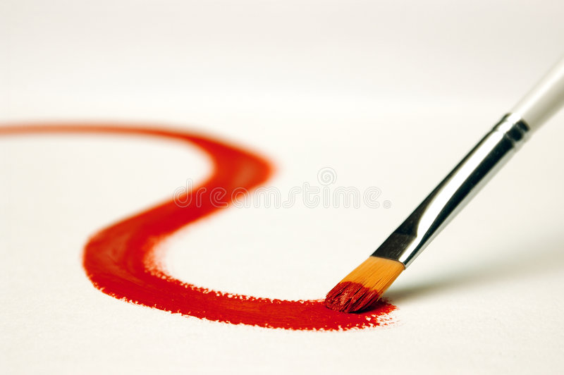Download Painting stock image. Image of picture, color, turns, white - 452433
