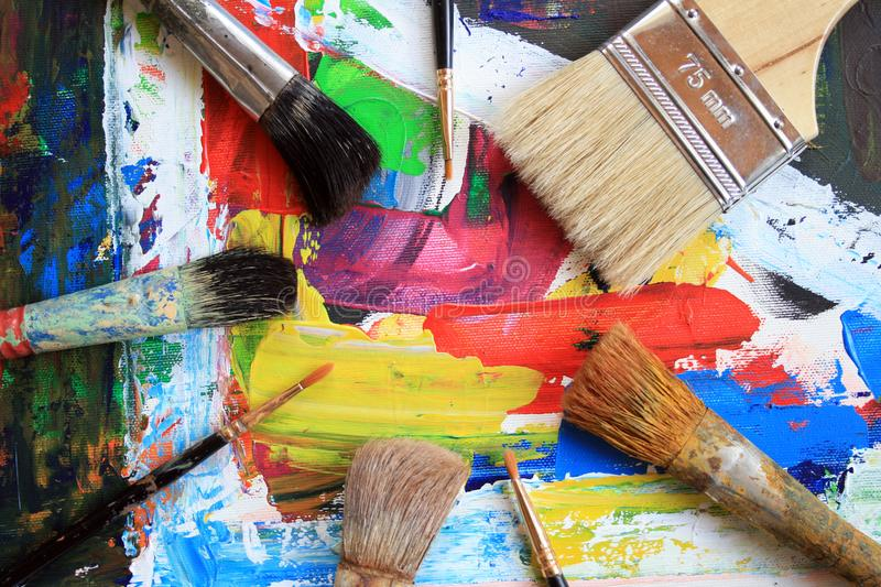 Painting stock photography