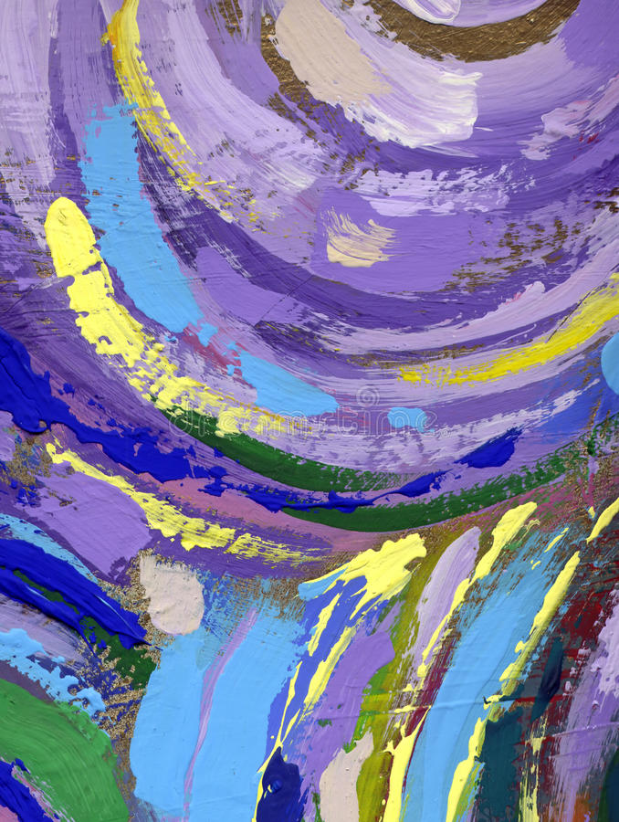 Painting abstract texture background royalty free illustration