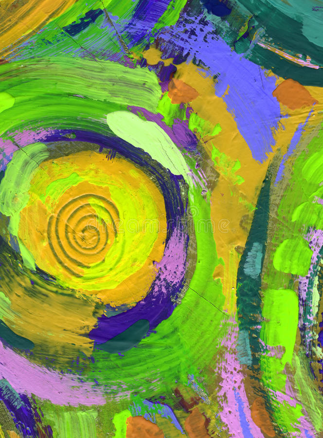 Painting abstract texture background stock illustration