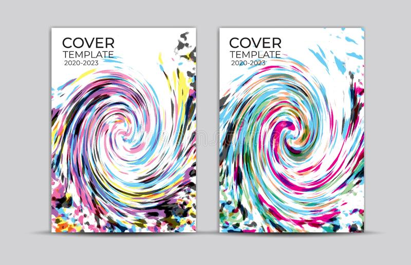 Pastel painting background, cover design, card, web banner, poster template, trendy texture, paper art, abstract vector. Illustration, book cover vector illustration