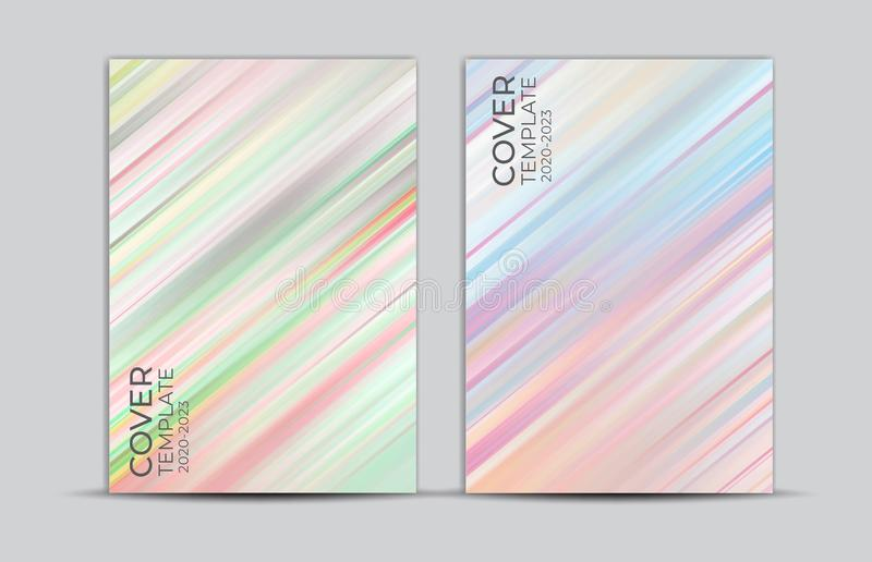 Pastel painting background, cover design, card, web banner, poster template, trendy texture, paper art, abstract vector. Illustration, book cover royalty free illustration