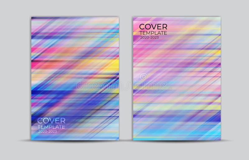 Pastel background, cover design, card, web banner, poster template, trendy texture, paper art, abstract vector. Illustration, book cover royalty free illustration