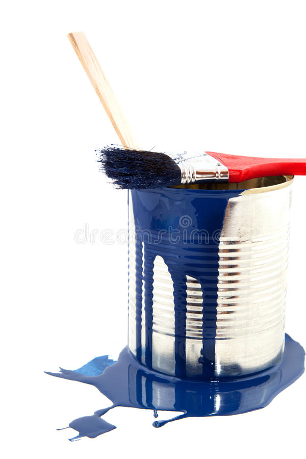 Download Painting in blue stock photo. Image of decoration, samples - 12479084