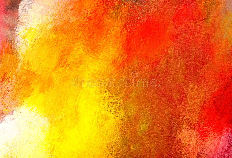 Painting close-up. Macro of the painting, colorful abstract stock photo