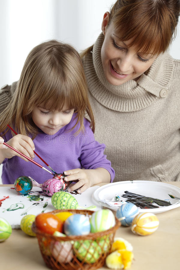 Download Painting Eggs Stock Image - Image: 9516411