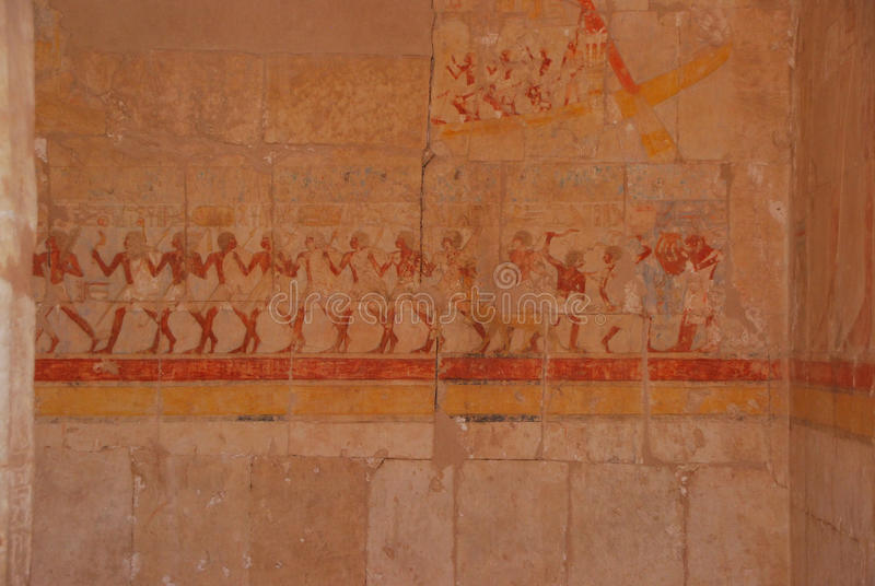 Download Painting In Egyptian Temple Stock Photography - Image: 23425742