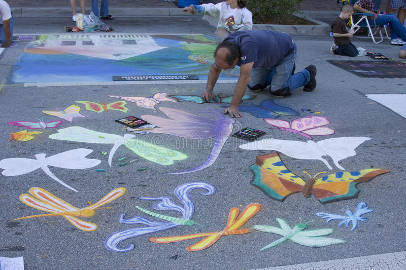 Download Painting Festival editorial stock image. Image of playing - 13136499